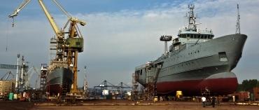 Prace stoczniowe